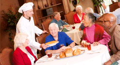 Assisted Living Dining, Assisted Living, Senior Living